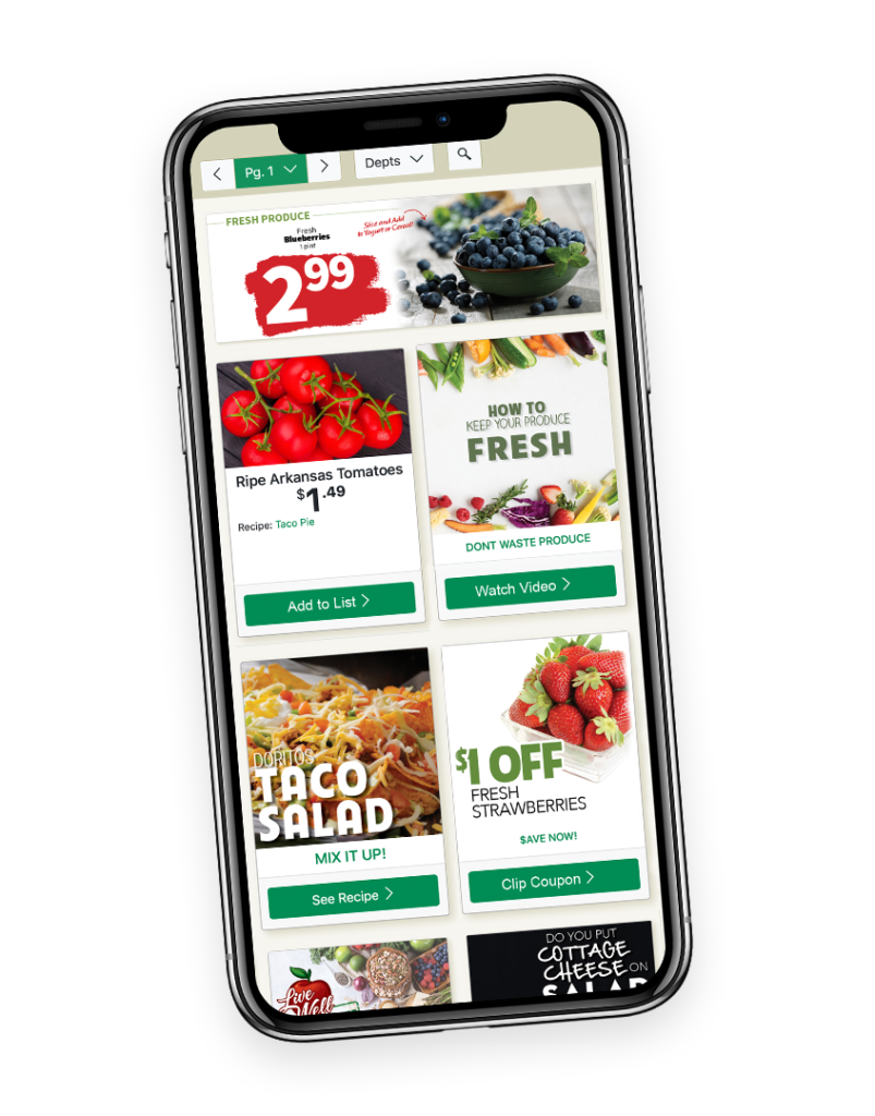 Mobile Grocery Coupon Deals